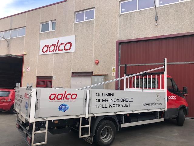 Transporte material aluminio